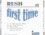 Rush - First Time