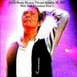 David Bowie - Live At The Beacon Theater 10/20/02