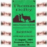 Thomas Dolby - Dominion Theater, London - 8/11/84