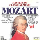 Mozart - Masters of Classical Music [Vol 1 - Mozart]
