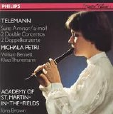 Michala Petri - Academy of St. Martin - In - The- Fields - [Telemann] Suite In A Minor - 2 Double Concertos