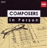 Various artists - Composers in Person 5, Honegger, Poulenc