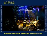 Lotus - Live at the Riviera Theater, Chicago 11-27-10