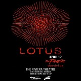 Lotus - Live at the Riviera Theater, Chicago 4-12-14
