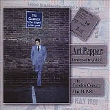 Art Pepper - Unreleased Art, Vol. III The Croydon Concert