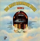 Various artists - You Must Remember These Volume II