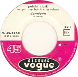 Petula Clark - Downtown / Baby It's Me